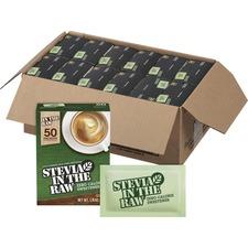 FOL 75050CT Folgers Stevia in The Raw Sweetener FOL75050CT