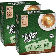 FOL 76014CT Folgers Stevia In The Raw Zero-calorie Sweetener FOL76014CT