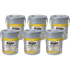 GOJ 639606CT GOJO Scrubbing Wipes GOJ639606CT