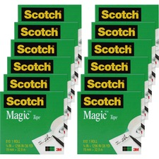 MMM 810341296PK 3M Scotch Magic Tape MMM810341296PK