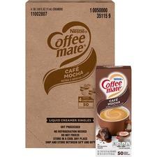 NES 35115CT Nestle Coffee-mate Cafe Mocha Liquid Creamer NES35115CT