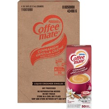 NES 42498CT Nestle Coffee-mate Cinnam. Vanilla Liquid Creamer NES42498CT