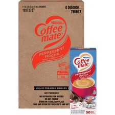 NES 76060CT Nestle Coffee-mate Peppermt Mocha Creamer Singles NES76060CT