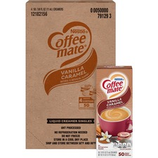 NES 79129CT Nestle Coffee-mate Vanilla Caramel Liquid Creamer NES79129CT