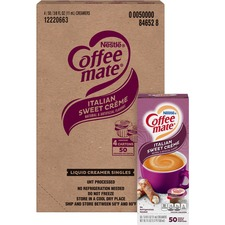 NES 84652CT Nestle Coffee-mate Italian SwCreme Liquid Creamer NES84652CT