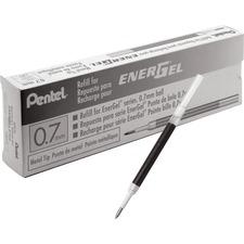 PEN LR7ABX Pentel EnerGel .7mm Liquid Gel Pen Refill PENLR7ABX
