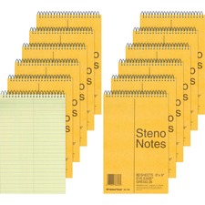 RED 36746PK Rediform Steno Notebook RED36746PK