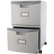 STX 61310B01C Storex Ind. 2-drawer Mobile Filing Drawer STX61310B01C