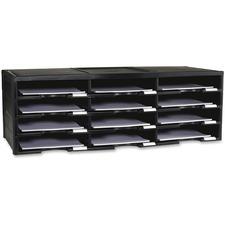 STX 61432U01C Storex Ind. 12-compartment Organizer STX61432U01C