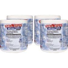 TXL L101CT 2XL GymWipes Antibacterial Towelettes Refill TXLL101CT