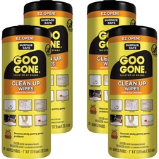 WMN 2000CT Weiman Products Goo Gone Tough Task Wipes WMN2000CT