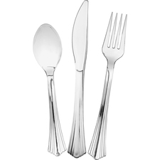 WNA612375CT - Comet Heavyweight Plastic Cutlery