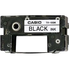 CSO TR18BK Casio Label Maker Printer Ribbon Cartridge CSOTR18BK