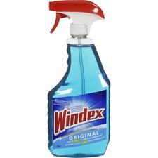 Windex® Powerized Glass Cleaner - Spray - 25.9 fl oz (0.8 quart) - 1 Each - Blue