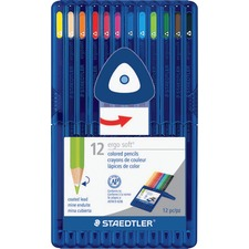 Staedtler Ergosoft Coloured Pencils - 12 / Set