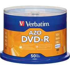 VER 95101 Verbatim 16X DVD-R Branded Spindle VER95101