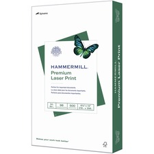 "Hammermill Paper for Color 8.5x14 Laser, Inkjet Copy & Multipurpose Paper - White - 98 Brightness - Legal - 8 1/2"" x 14"" - 24 lb Basis Weight - Ultra Smooth - SFI"