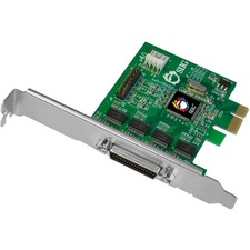 SIIG DP CyberSerial 4S PCIe - PCI Express 1.1 x1 - 4 x Male RS-232 Serial Via Cable - Plug-in Card