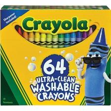 CYO 523287 Crayola Ultra Clean Washable Crayons CYO523287