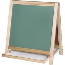 FLP 17306 Flipside Prod. Chalkbrd/Magnetic Board Table Easel FLP17306