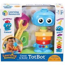 LRN LER7734 Learning Res. Count & Build TotBot Build Set LRNLER7734