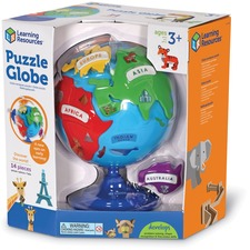 LRN LER7735 Learning Res. Ages 3+ Puzzle Globe LRNLER7735