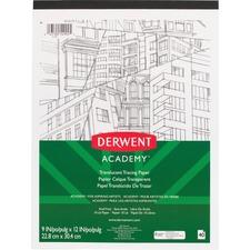 MEA 54992 Mead Derwent Academy Translucent Paper Pad MEA54992