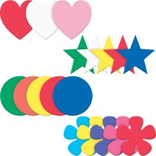 PAC AC4359 Pacon WonderFoam Shapes Assortment Set PACAC4359