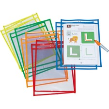 PAC AC9869 Pacon Dry-Erase Pockets PACAC9869
