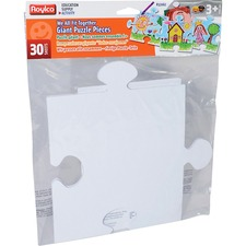RYL R52062 Roylco We All Fit Together Giant Puzzle Pieces RYLR52062
