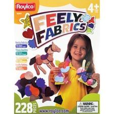 RYL R59650 Roylco Feely Fabrics Sensory Exploration RYLR59650