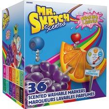 SAN 2003992 Sanford Mr. Sketch Scented Washable Markers SAN2003992