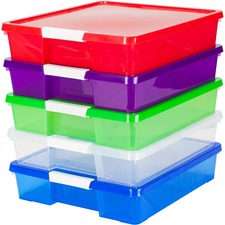 STX 63202U05C Storex Ind. Stackable Craft Box STX63202U05C