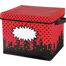 TCR 20769 Teacher Created Res. Super Hero Storage Bins TCR20769