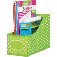 TCR 20785 Teacher Created Res. Chalkboard Bright Book Bins TCR20785