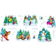 TEP 8286 Trend Wonderful Winter Bulletin Board Set TEP8286