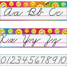 TEP 8287 Trend Emoji Alphabet Line Standard Bulletin Set TEP8287