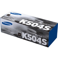 Samsung CLT-K504S (SU162A) Toner Cartridge - Black - Laser - 2500 Pages - 1 Each