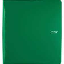 "MEA 38912 Mead Five Star 1-1/2"" D-ring Plastic Binder MEA38912"