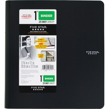 "MEA 38894 Mead Five Star 1"" Plastic Binder MEA38894"
