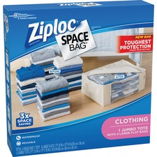 SJN 690885 SC Johnson Ziploc Clothing Space Bag SJN690885