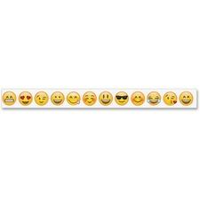 CTC 01931 Creative Teaching Press Emoji Fun Border CTC01931