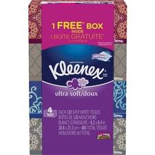 KCC44596 - Kleenex Ultra Soft Facial Tissue