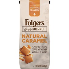 FOL 00126 Folgers Simply Gourmet Flavored Ground Coffee FOL00126