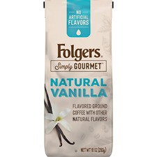 FOL 00125 Folgers Simply Gourmet Flavored Ground Coffee FOL00125