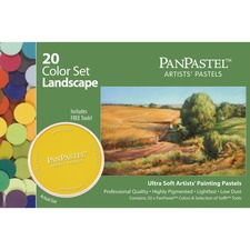 AMZ30202 - Armadillo Arts & Craft 20-color Landscaping Colors Pastels