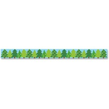 CTC 83861 Creative Teaching Press Pattern Pine Trees Border CTC83861