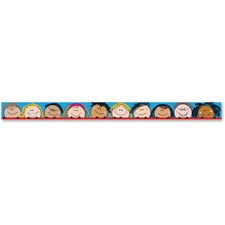 CTC 18161 Creative Teaching Press Smiling Stick Kids Border CTC18161