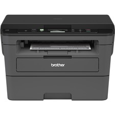 Brother HL HL-L2390DW Wireless Laser Multifunction Printer - Monochrome - Copier/Printer/Scanner - 36 ppm Mono Print - 2400 x 600 dpi Print - Automatic Duplex Print - Upto 10000 Pages Monthly - 250 sheets Input - Color Scanner - 1200 dpi Optical Scan - Ethernet - Wireless LAN - Wi-Fi Direct, Google Cloud Print, Apple AirPrint, Brother iPrint&Scan - USB - 1 - For Plain Paper Print
