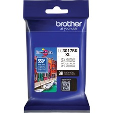 Brother Innobella LC3017BK Original Ink Cartridge - Black - Inkjet - High Yield - 550 Pages - 1 / Pack